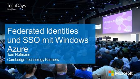 Federated Identities und SSO mit Windows Azure
