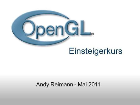 Einsteigerkurs Andy Reimann - Mai 2011. Intro Trailer.