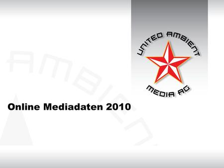 Online Mediadaten 2010. Edgar Online Music only Sports only Students only Kontakt Edgar E-Cards Stage Online MusicSportsStudents ÜBERSICHT ONLINE MEDIA.