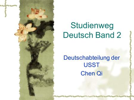 Studienweg Deutsch Band 2