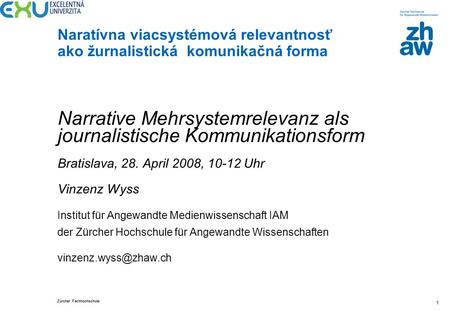 Narrative Mehrsystemrelevanz als journalistische Kommunikationsform