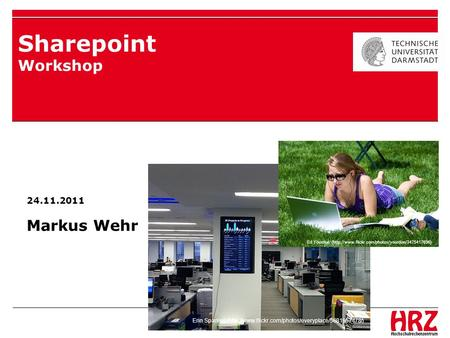 Sharepoint Workshop Markus Wehr