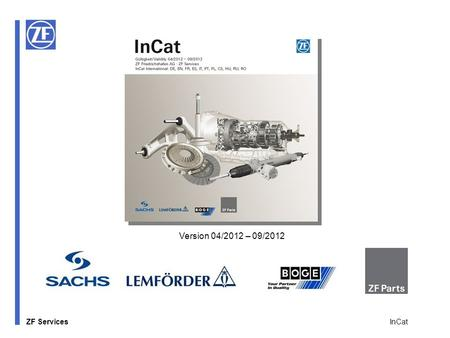 Version 04/2012 – 09/2012 InCat.