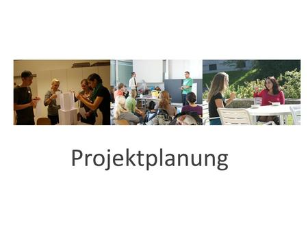Projektplanung. Definitions- phase Planungs- Konzeptionsphase Realisierungs- Umsetzungs- phase Auswertungs- phase.