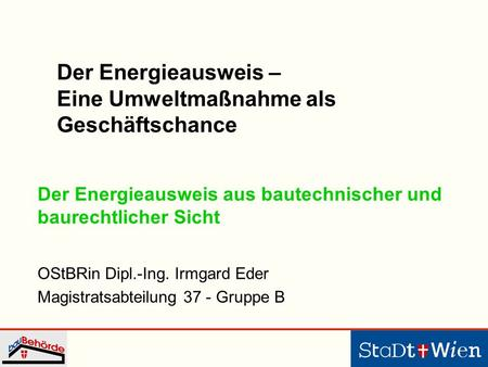 Energy Performance Building Directive - EPBD