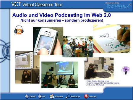 Audio und Video Podcasting im Web 2.0