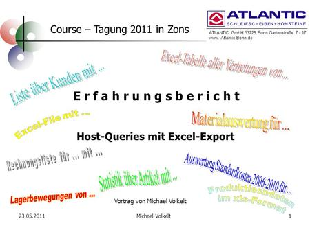 Host-Queries mit Excel-Export