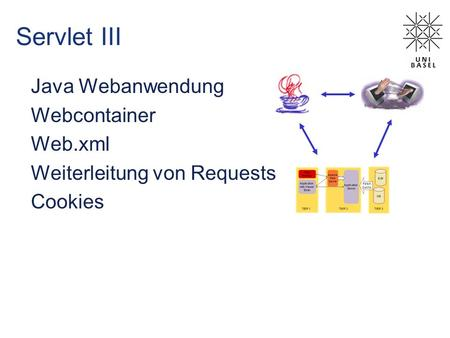 Servlet III Java Webanwendung Webcontainer Web.xml Weiterleitung von Requests Cookies.
