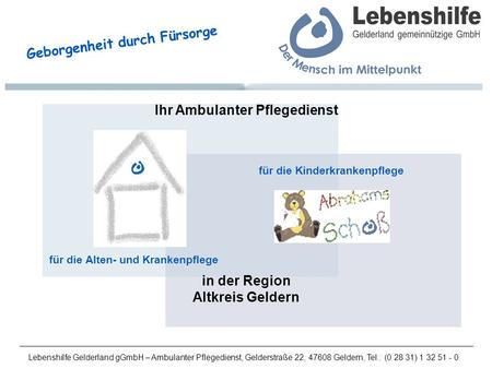 Ihr Ambulanter Pflegedienst
