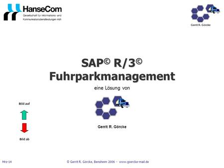 SAP© R/3© Fuhrparkmanagement