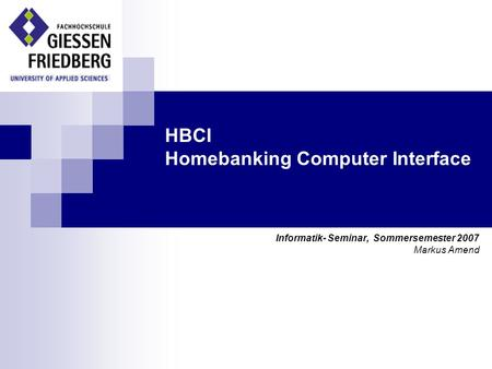 HBCI Homebanking Computer Interface