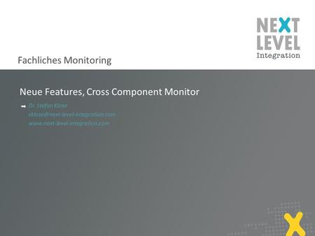 Neue Features, Cross Component Monitor