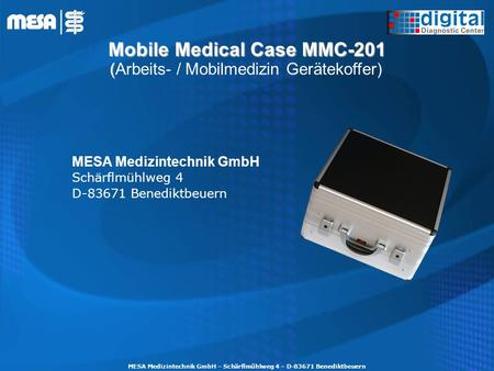 Mobile Medical Case MMC-201