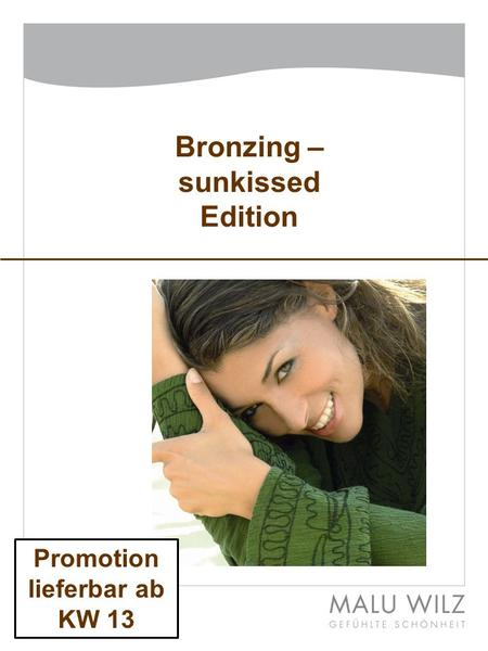 Bronzing – sunkissed Edition