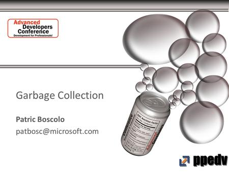 Garbage Collection Patric Boscolo