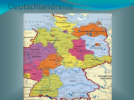 Deutschlandreise. Deutschland in Europa Click to edit the outline text format Second Outline Level Third Outline Level Fourth Outline Level Fifth Outline.
