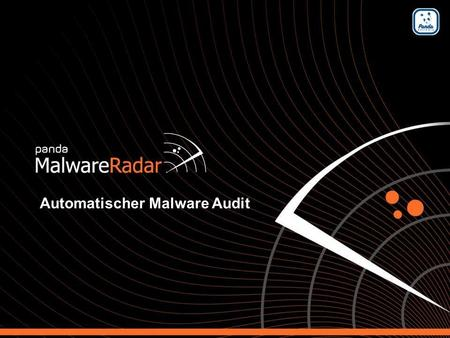 1 Automated malware audit service Automatischer Malware Audit.