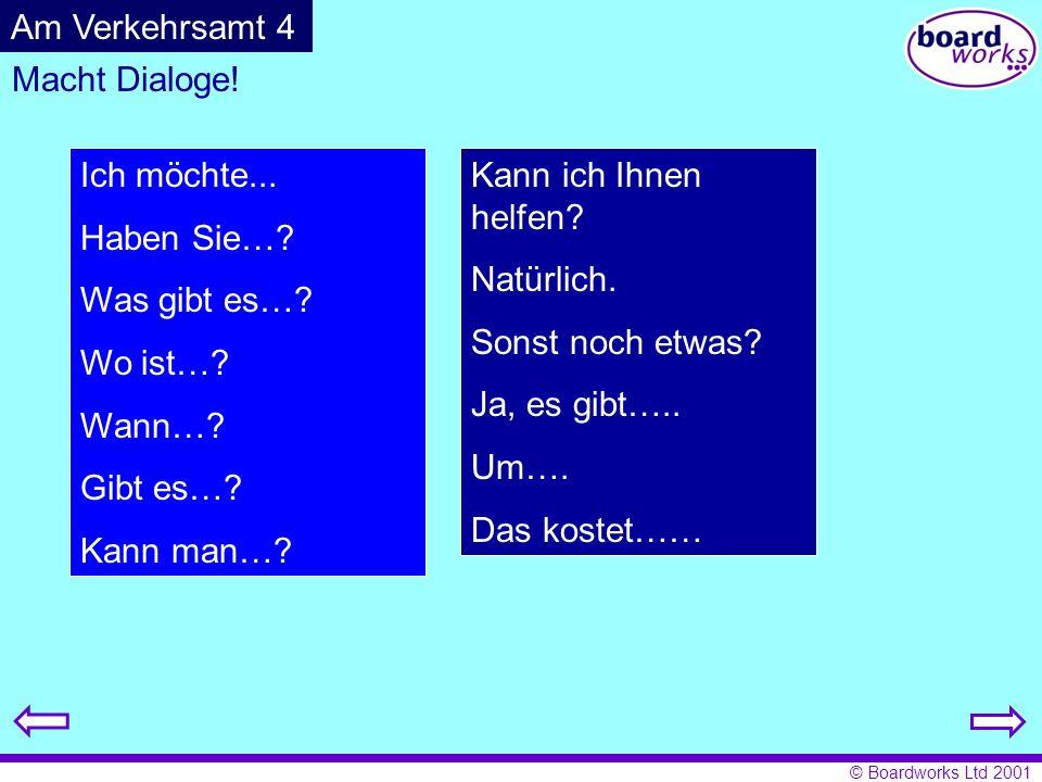 © Boardworks Ltd 2001 München, den 8.