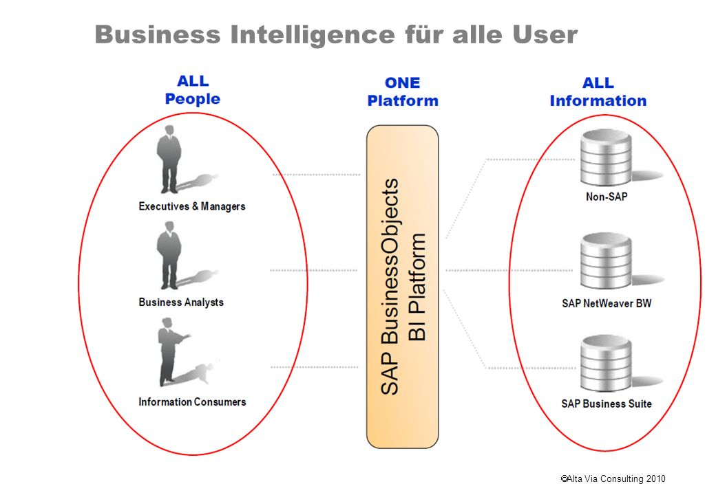 Alta Via Consulting 2010 Business Objects Front Ends Crystal Xcelsius Web Intelligence Advanced Analysis (incl.