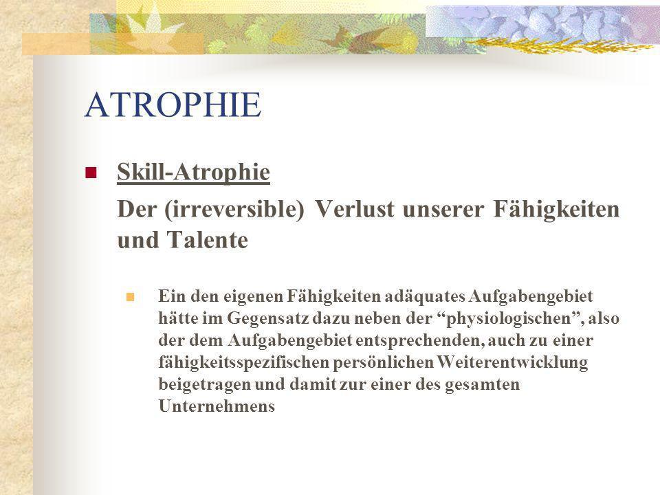 ARBEIT MACHT DUMM Der (irreversible) Verlust unserer Fähigkeiten und Talente am Arbeitsplatz Eine für Unternehmenspathologie von Consent durchgeführte Untersuchung.