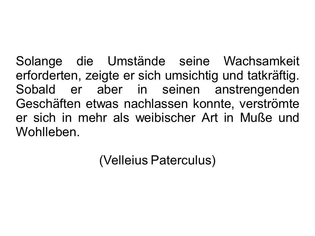 Inhalt 1. Biografie 2. Maecenas Rolle in Politik und Kunst 3. Informationsquellen 4. Bildquellen