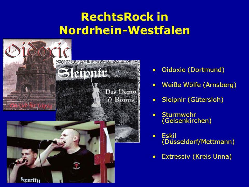 Die Schulhof-CD Hat der Jugendliche erst einmal an Bands, die patriotische Motive in ihren Texten verarbeiten, Gefallen gefunden, dann fragt er möglicherweise nach Mehr, nach dem Woher und Warum des Nationalismus.