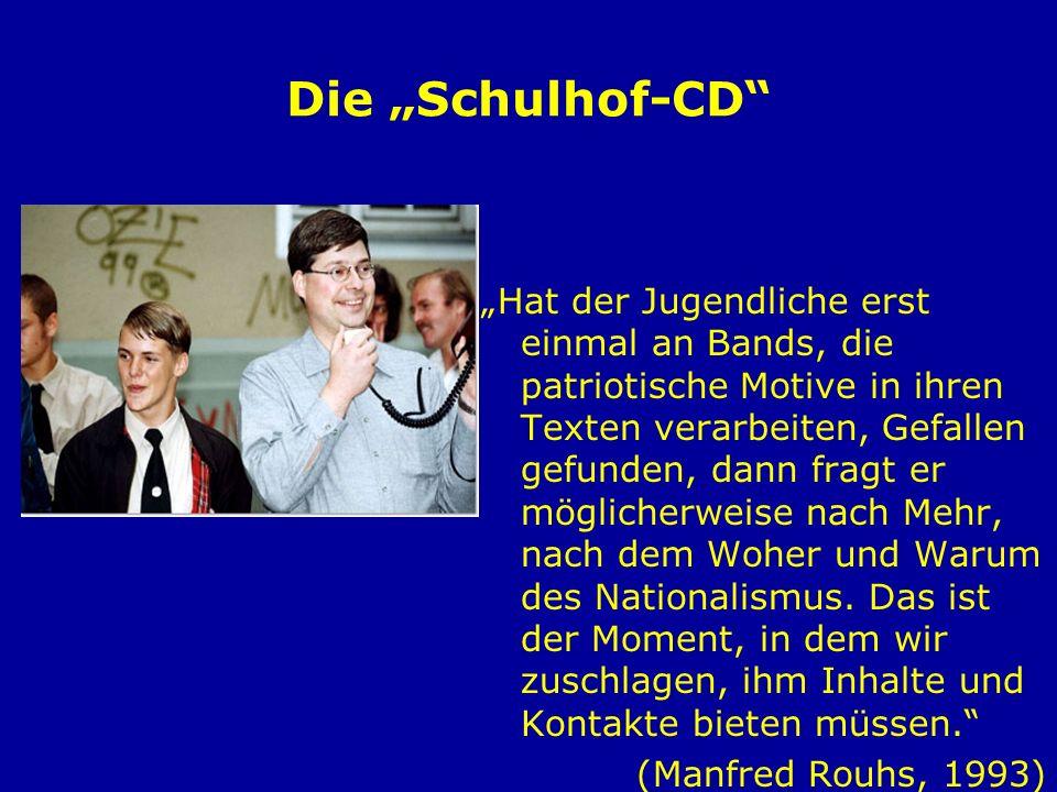 Die Schulhof-CD Freie Kameradschaften NPD/JN