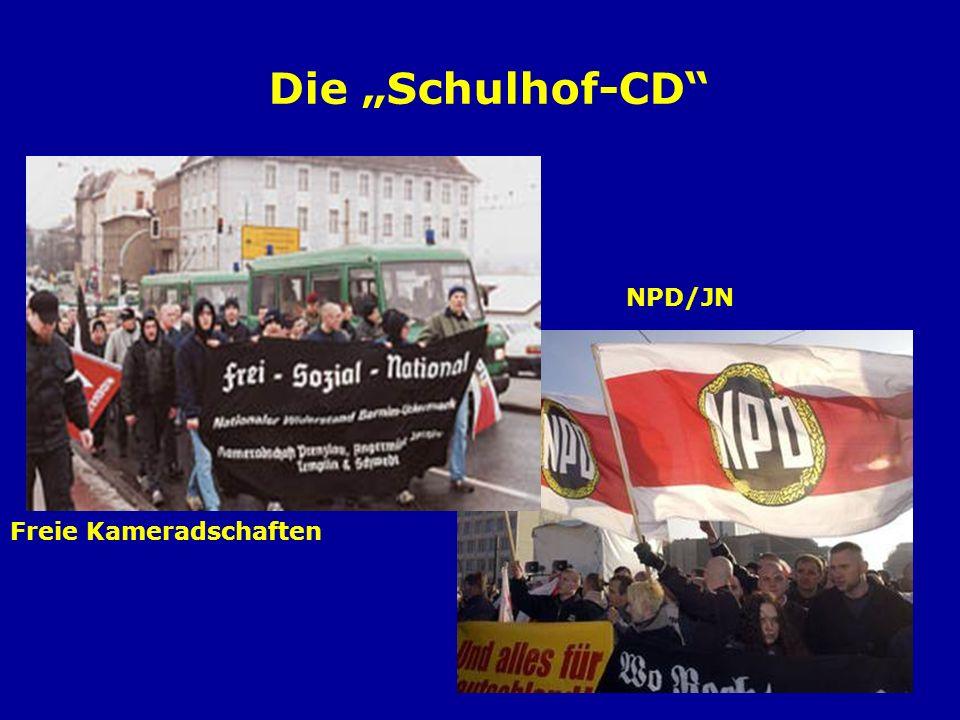Lieder aus dem Untergrund – Die erste Schulhof-CD Erscheinungsjahr: 2004 Startauflage: 50.000 Gemeinschaftsproduk- tion von ca.