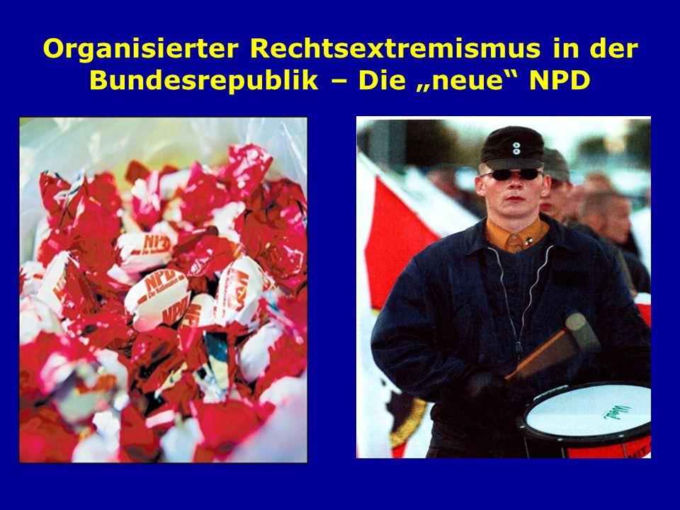 Kampf um die Köpfe Kampf um die Parlamente Kampf um die Straße Kampf um den organisierten Willen Das Drei-Säulen- Konzept der NPD
