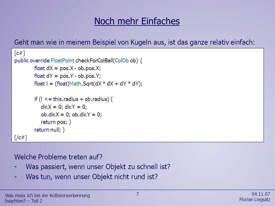 Eine Laufzeit von O(n²) ist definitiv unerwünscht.