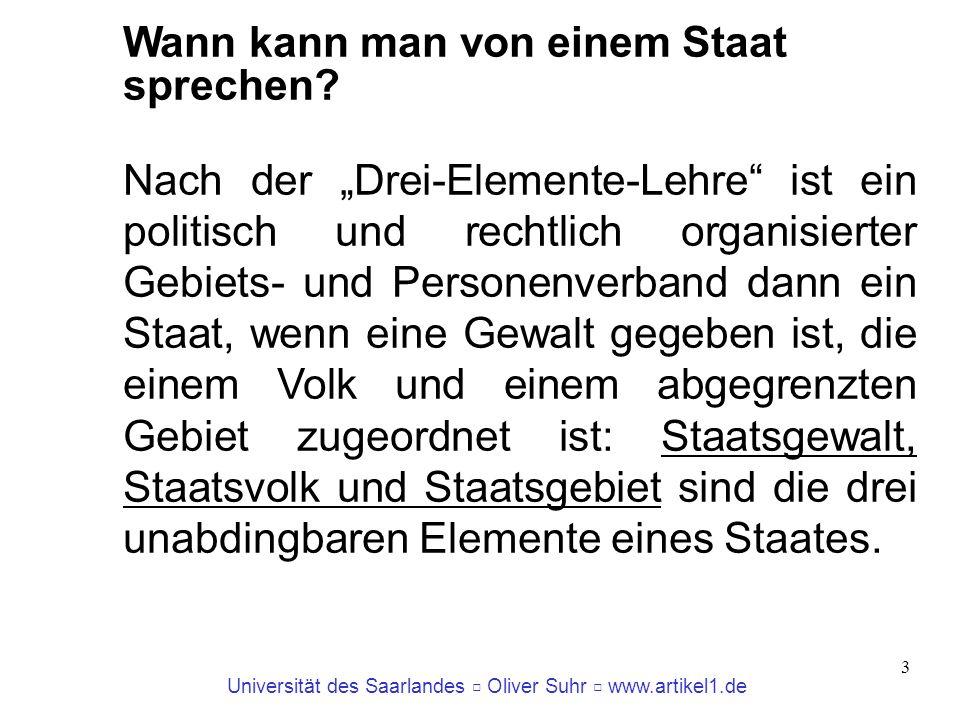 Universität des Saarlandes Oliver Suhr www.artikel1.de 4 Artikel 2 EUV Die Werte, auf die sich die Union gründet, sind die Achtung der Menschenwürde, Freiheit, Demokratie, Gleichheit, Rechtsstaatlichkeit und die Wahrung der Menschenrechte einschließlich der Rechte der Personen, die Minderheiten angehören.