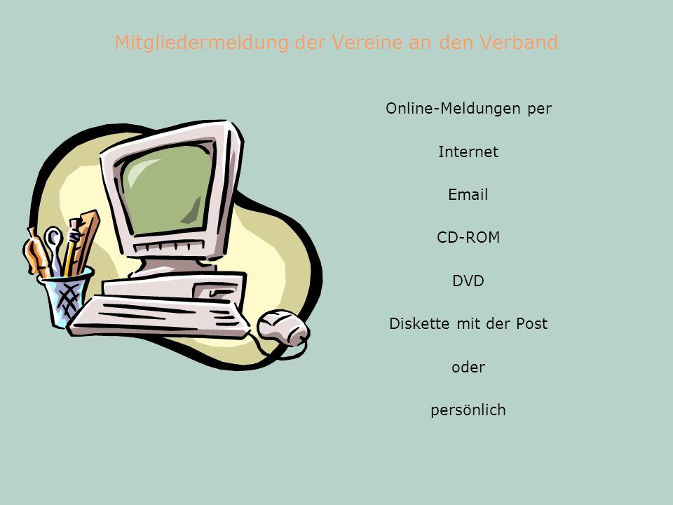 EDV und Internet im Verband Kasse - Buchführung Verwaltung Projekte, Ehrungen, Fakturierung...