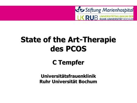 State of the Art-Therapie des PCOS