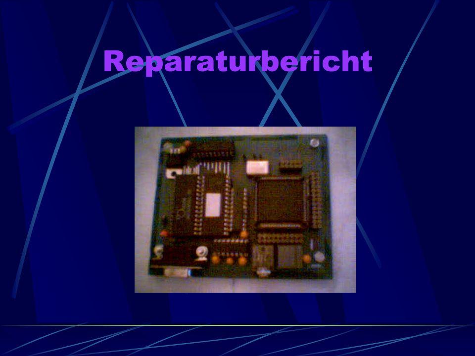 Reparaturbericht