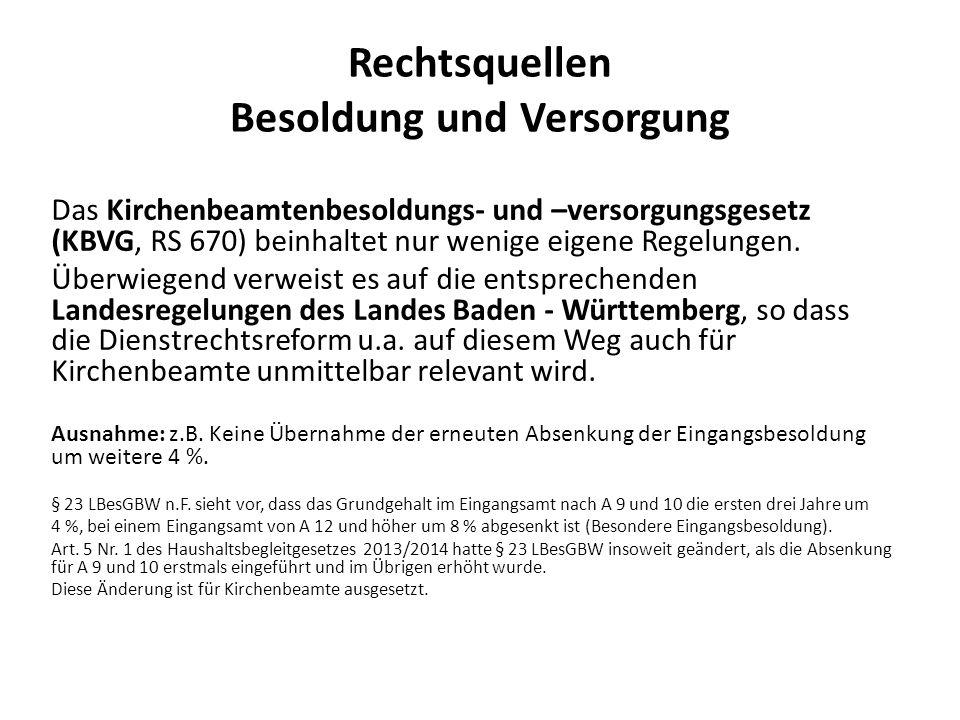 Interims-Rechtslage ab 1.1.2011 bis 31.12.2011 ( Inkrafttreten Dienstrechtsreformgesetz des Landes –DRG- ) Die Württ.