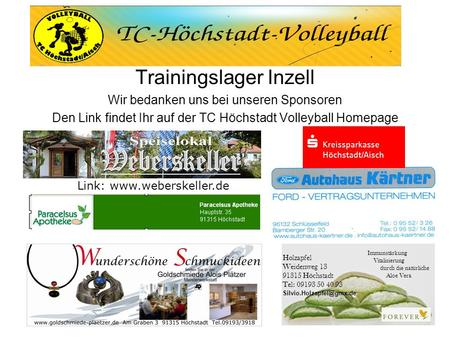 Trainingslager Inzell