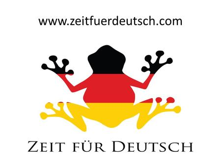 www.zeitfuerdeutsch.com The weather – Das Wetter LO: Say what the weather is like SC I can use the German words for the seasons, windy, foggy and cloudy.