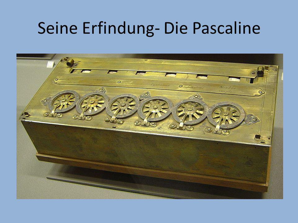 Was ist die Pascaline.
