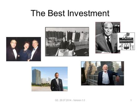 The Best Investment GS, 28.07.2014 - Version 1.01.