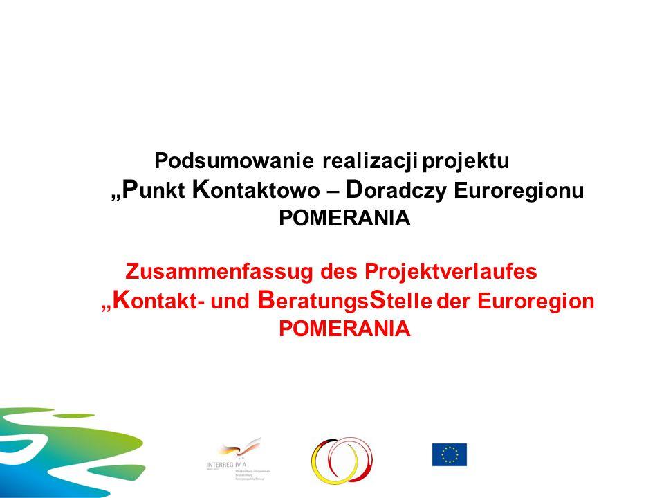  Partner wiodący/ Lead-Partner Kommunalgemeinschaft POMERANIA e.
