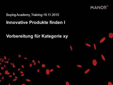 "Vorbereitungsaufgabe ""Innovative Produkte finden 