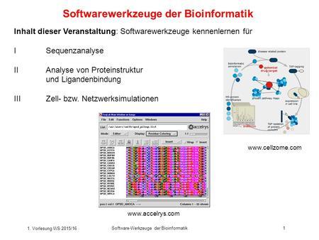 Software kennenlernen