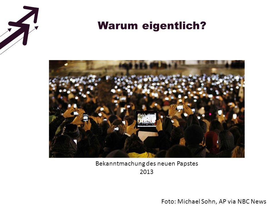 Warum eigentlich? Auszug Studie: Mobile Internetnutzung 2013 (InititativeD21)