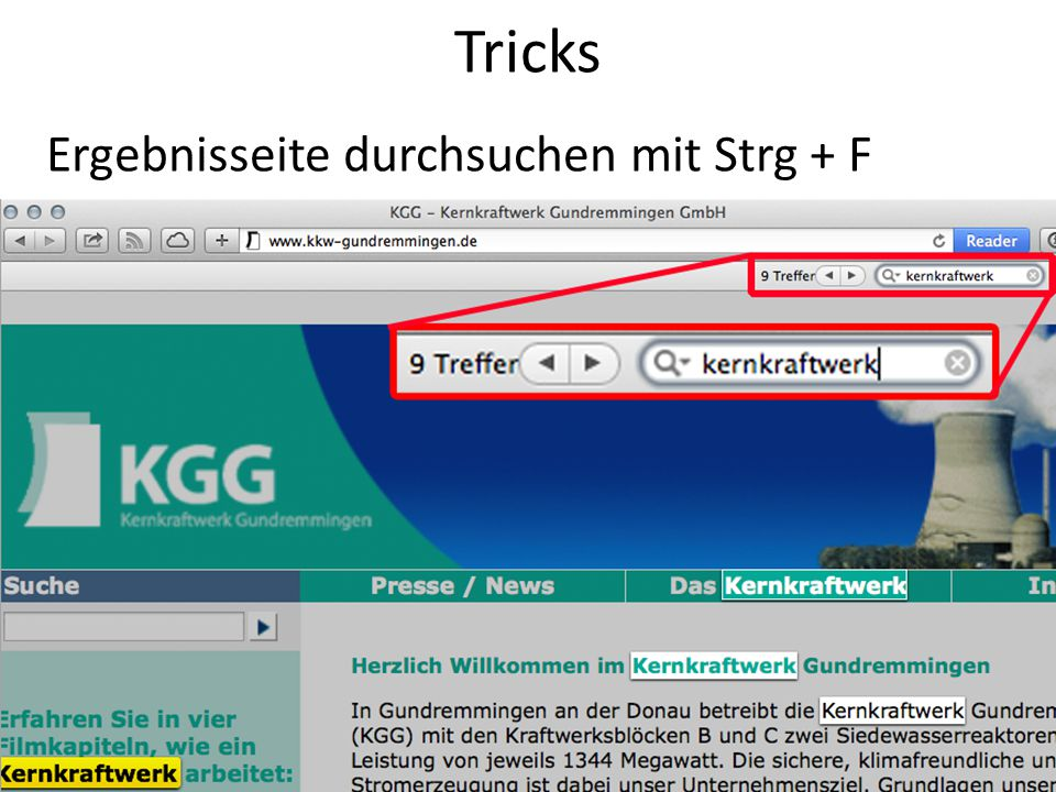 21 Tricks PDF-, Powerpoint-, Word-...