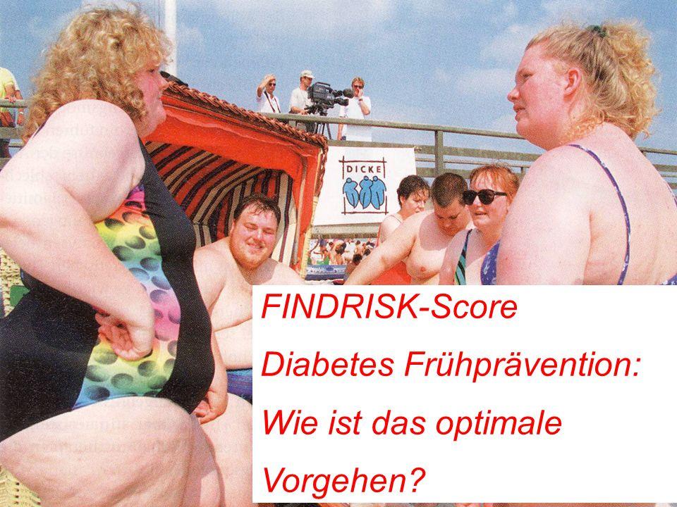 22 Diabetes Risiko-Test FINDRISK