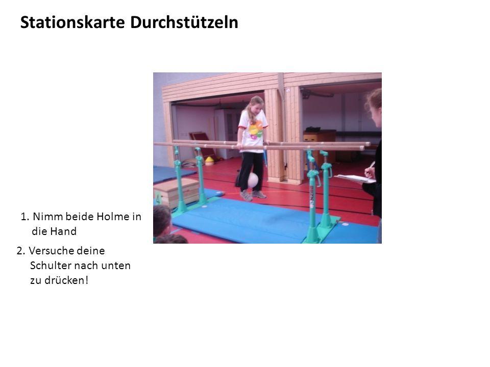 Stationskarte Dips Achtung!!.Diese Übung ist nur zum testen.
