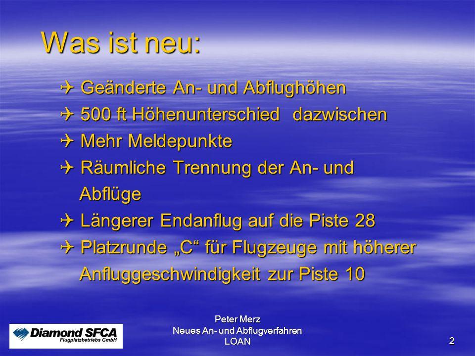 """Peter Merz Neues An-und Abflugverfahren LOAN3 Die neuen Meldepunkte  """"F  """"Z  """"E  """"L  """"M F Sollenau Holzplatz Straße Felixdorf-Großmittel Wr."""