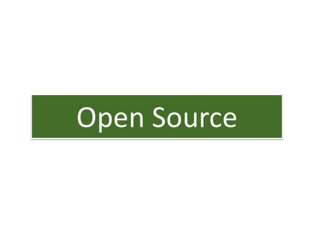 Open Source. Inhalt 1.Was ist Open Source? 2.Die Open Source Initiative (OSI) 3.Open Source Definition (OSD) 4.Copyleft-Prinzip 5.GNU General Public License.