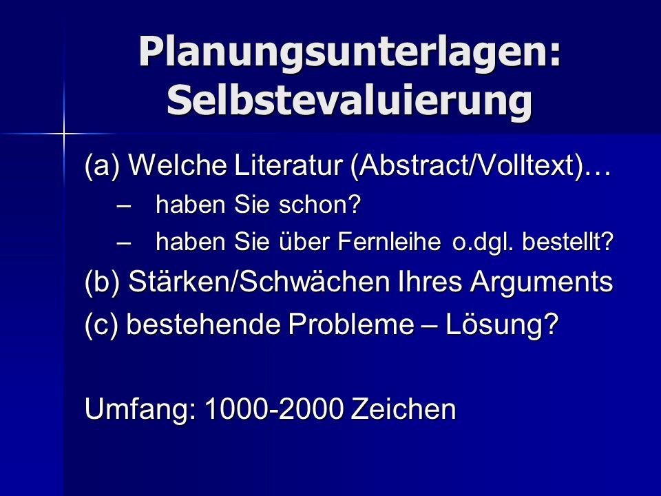 Klarheit und Effizienz Möglichst 1-1-Entsprechung zwischen: ArgumentationsgangArgumentationsgang Referat (Folien)Referat (Folien) Schriftliche ArbeitSchriftliche Arbeit d.h.