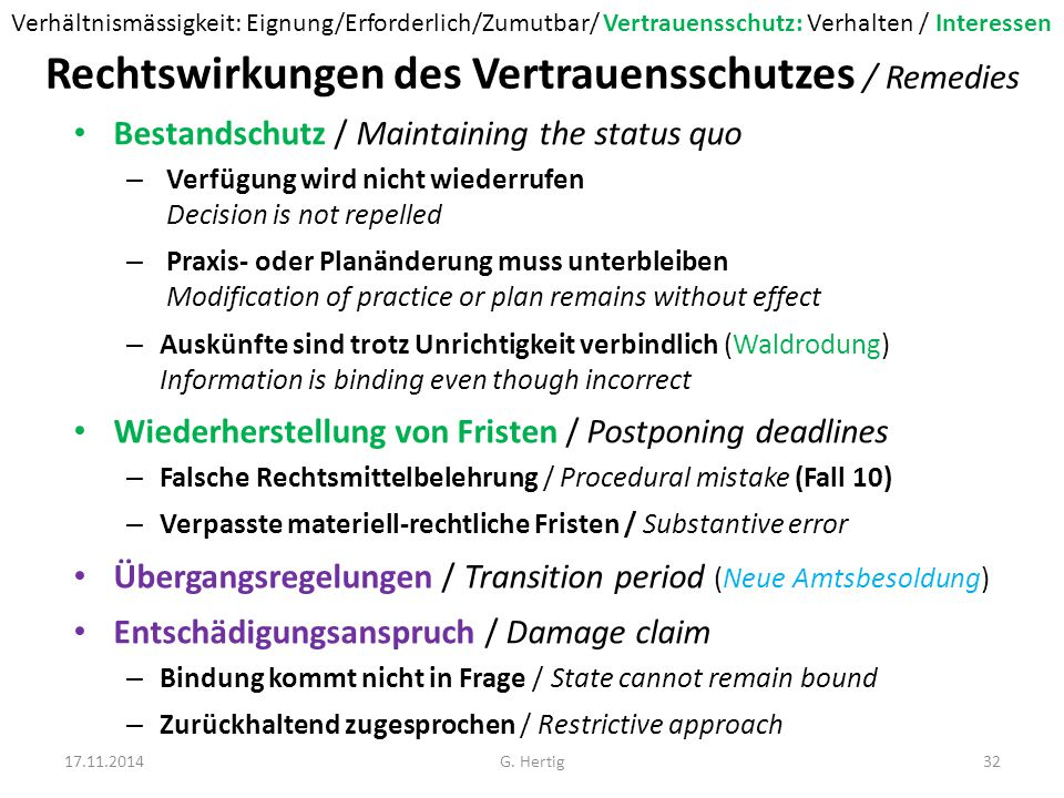 Fall 10: Rekurs Frist (siehe auch BGE 135 III 374/2009) In der von der Stiftung S.